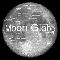 Moon globe app
