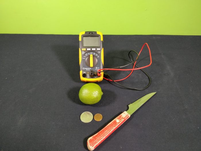 A simple Homemade Lemon Battery - materials_ingredients needed