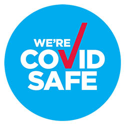 We're a COVID SAFE Company