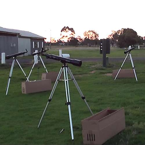 telescopes in the field