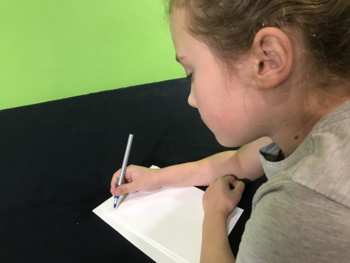 Create an ant farm science experiment - writing down observations