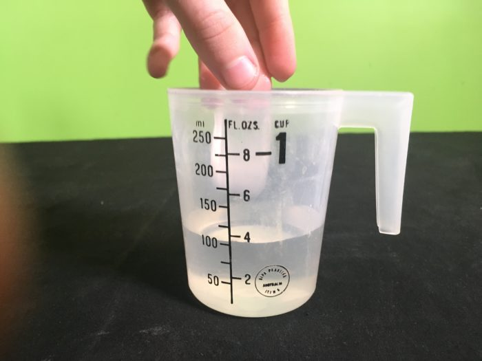 Why does Ice Float Science Experiment - placing ice cube in water