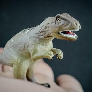 Allosaurus dinosaur replica