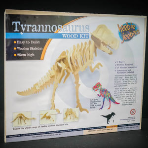 T-Rex Woodcraft Skeleton Construction Kit