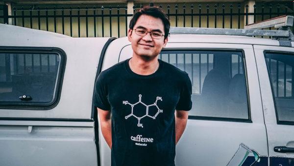Caffeine Shirt (XL)