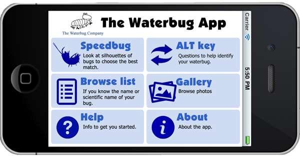 Waterbug app