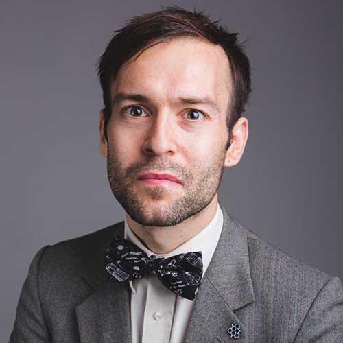 Dr Sam Illingworth portrait picture