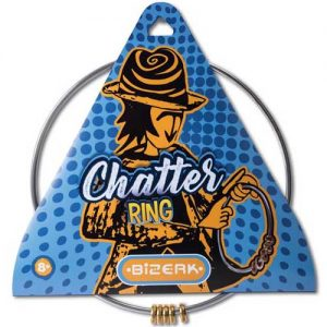 chatter ring science toy in packet