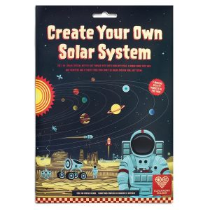 Create your own solar system wallchart package