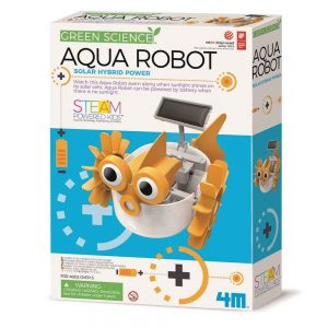 Aqua robot in the box